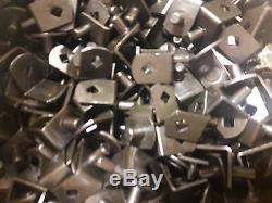 1000 Pack- Shelf Support Pegs Pins 5mm Steel Bookshelf Cabinet Black Heavy Duty