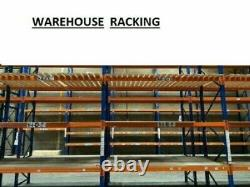 1.21/2.43/3 M Heavy Duty Warehouse Beams and 2.70M Upright Pallet Racking Frames