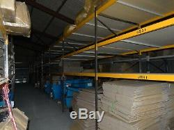 1 Bay of Tall, Heavy Duty Industrial Commercial Warehouse Shelving Racking