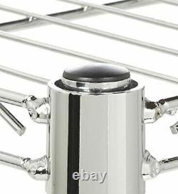 3/4/5-Shelf Heavy Duty Chrome Steel Rust-Proof Wire Shelving Home Storage Rack