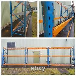 3 Bays Heavy Duty Planned Storage Pallet Racking Shelving 2.7M x 0.9M x 2.4M