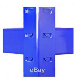 3 x Metal Racking Bays Freestanding/Garage Shelving/Heavy Duty Storage Rack