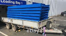 4 BAYS Pallet Racking System Heavy-Duty Mecalux 900 X 2700 Heavy Duty