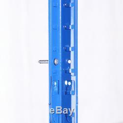 4 Bays 5 Tier Blue Metal Garage Shelves Heavy Duty Shelving Unit Racking Storage