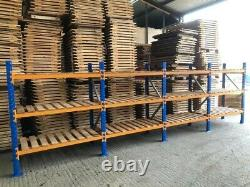 4 Bays Industrial Shelving Pallet Racking by VPM Racking Super Heavy Duty