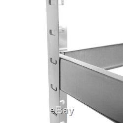 4 Garage Shelving Racking Bays 5Tier EXTRA HD Racking Shelves Storage Shed-Cheap