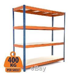 4 Tier Heavy Duty Steel Racking/Garage Shelving Unit/Metal Racking