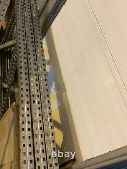 4 X Bays Of Industrial Warehouse Heavy Duty Racking / Shelving / Storage