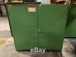 4 x Heavy Duty Storage Cabinet with shelves
