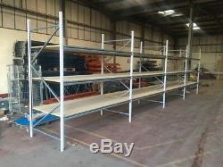 4 x bays apex heavy duty longspan shelving Inc Free Delivery