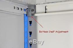 50 Bays Genuine Dexion Impex Heavy Duty Industrial Boltless Steel Shelving