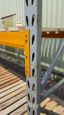 5 Bays Heavy Duty Link 68 Pallet Storage Racking Shelving 2.7M x 0.9M x 2.5M