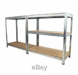 5 Tier Metal Shelf Boltless Shelving Garage Heavy Duty Storage Racking Unit SHED