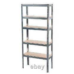 5 Tier Shelving Storage Racking Garage Racks Heavy Duty Steel Warehouse Shelves