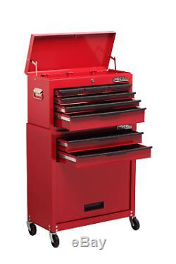 8 Drawer Combination Set Heavy Duty Tool Garage Storage Organiser C108BBS HILKA