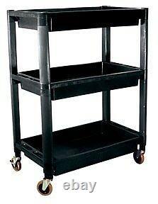 ATD Tools Heavy-Duty Plastic 3-Shelf Utility Cart part ATD 7017 FAST SHIPPING