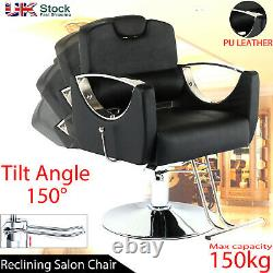 Adjustable Hydraulic Reclining Barber Hairdressing Chair Beauty Salon Chair NEW