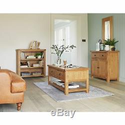 Argos Home Kent 3 Shelf Small Oak Bookcase Oak Veneer