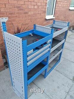 BRI-STOR Heavy duty van racking shelving