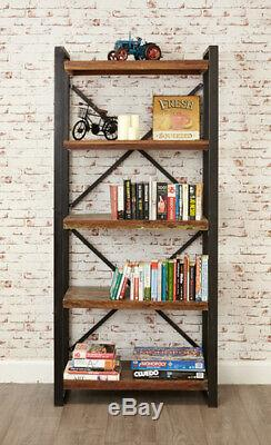 Baumhaus Urban Chic Funky Large Open Bookcase Reclaimed Wood