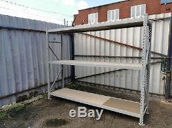 Beam Bay Container Racking Storage Shelving Warehouse Heavy Duty Shelves Garage