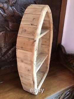 Bespoke Hand Made Rowing Boat Rustic Shelving Nautical Seaside Garden Bathroom