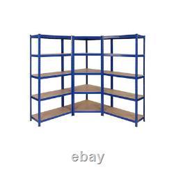 Best Corner Garage Racking/Shelving Unit 5 Tier Storage Racks Heavy Duty