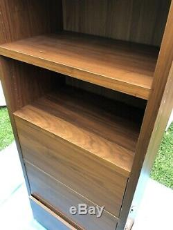 BoConcept Lecco Wall Storage Unit Display Cabinet Bookcase Walnut Modern RRP 6k