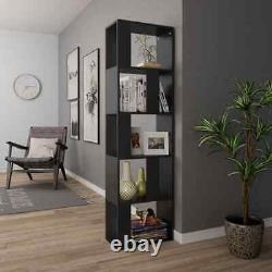 Book Cabinet Room Divider Bookcase Storage Display Corner Rack Wooden Furniture