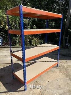 Brand New Heavy Duty Clip Together Pallet Racking Shelving Cabinet Dexion