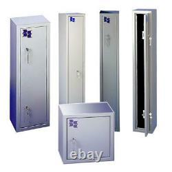 Brattonsound SS9+ 9 Gun Cabinet With Storage Shelf Heavy Duty Gun Safe