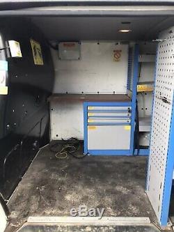 BriStor Van Racking Heavy Duty Metal Plumbers Electricians VW T5 Shelves Drawers