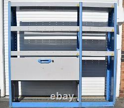Bri-Stor Elite van racking system heavy-duty LCV metal shelving