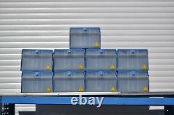 Bri-Stor Elite van racking system heavy-duty LCV metal shelving storage bins