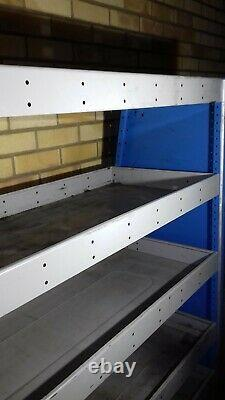 Bri-stor Elite metal Van shelving racking heavy duty 162 cm x 162 cm x 46 cm