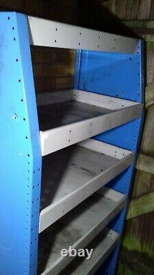 Bri-stor Elite metal Van shelving racking heavy duty 162 cm x 83 cm x 46 cm