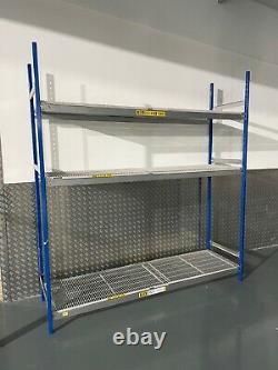Commercial / Domestic Heavy Duty Racking Longspan Dexion 2.4m x 2.2m x 0.6m