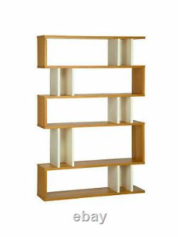Content By TERENCE CONRAN Counterbalance Tall SHELVING IN LACQUERED OAK/WHITE