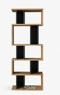 Content by TERENCE CONRAN Counterbalance Alcove Shelving Unit Oak/Charcoal