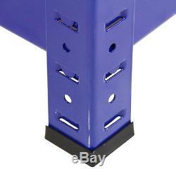 Corner Racking Shelving Bays 5 Tier Garage Unit Storage Racks Heavy Duty