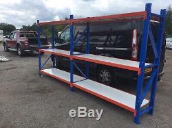Dexion Extra Heavy Duty Shelves Garage Shelving Racking 500kg Per Shelve