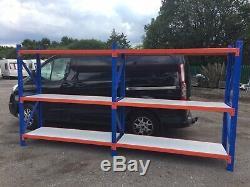 Dexion Extra Heavy Duty Shelves Garage Shelving Racking 500kg Per Shelve 2 Bays