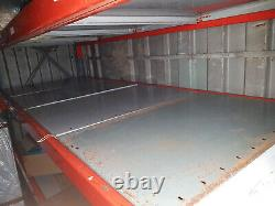 Dexion Heavy Duty Industrial Factory Pallet Racking Shelving Bay 4 Shelves
