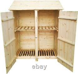 Double Log Store/Tool Store, 4ft 6ft 1460W 800D