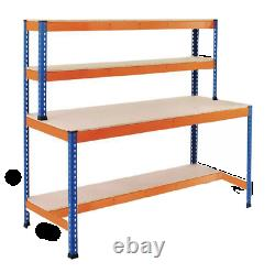 Extra Heavy Duty Robust Work Bench 1677mm H x 1800mm W x 600mm D