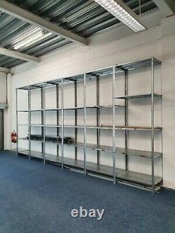 Extra LARGE Heavy Duty Shelving Unit with Adjustable Shelves