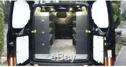 Ford Transit Custom -Extra Heavy-Duty Van Racking Shelving System Bott Installed
