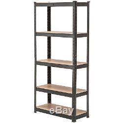 Garage Rack Shelving Unit 5-Tier Heavy Duty Boltless Metal Shelf Storage