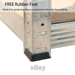 Garage Shed Racking Storage Shelving Unit Boltless Heavy Duty Shelf Galvanized