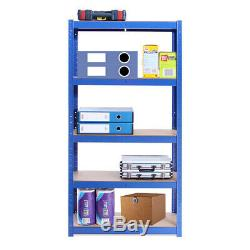 Garage Shelving Racking Steel Work Shop Blue / BlackTable Station Unit Storage
